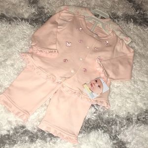 New baby girl 3 pieces set